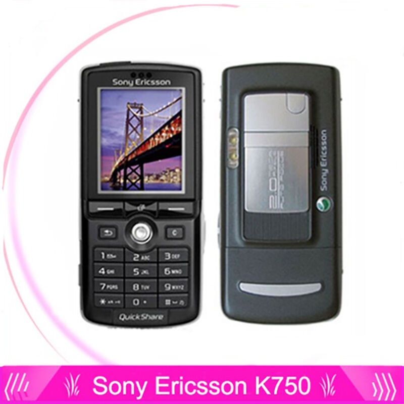 sony ericsson k750 k750i black silver unlocked. Black Bedroom Furniture Sets. Home Design Ideas