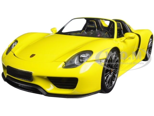 2013 porsche 918 spyder yellow ltd 504pc 1 18 by minichamps 110062434 ebay. Black Bedroom Furniture Sets. Home Design Ideas