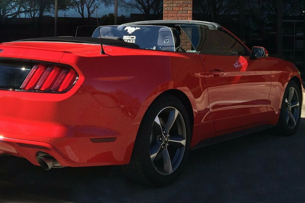 Ford Shelby Truck >> Ford Mustang 2015 2016 WindRestrictor Wind Screen ...