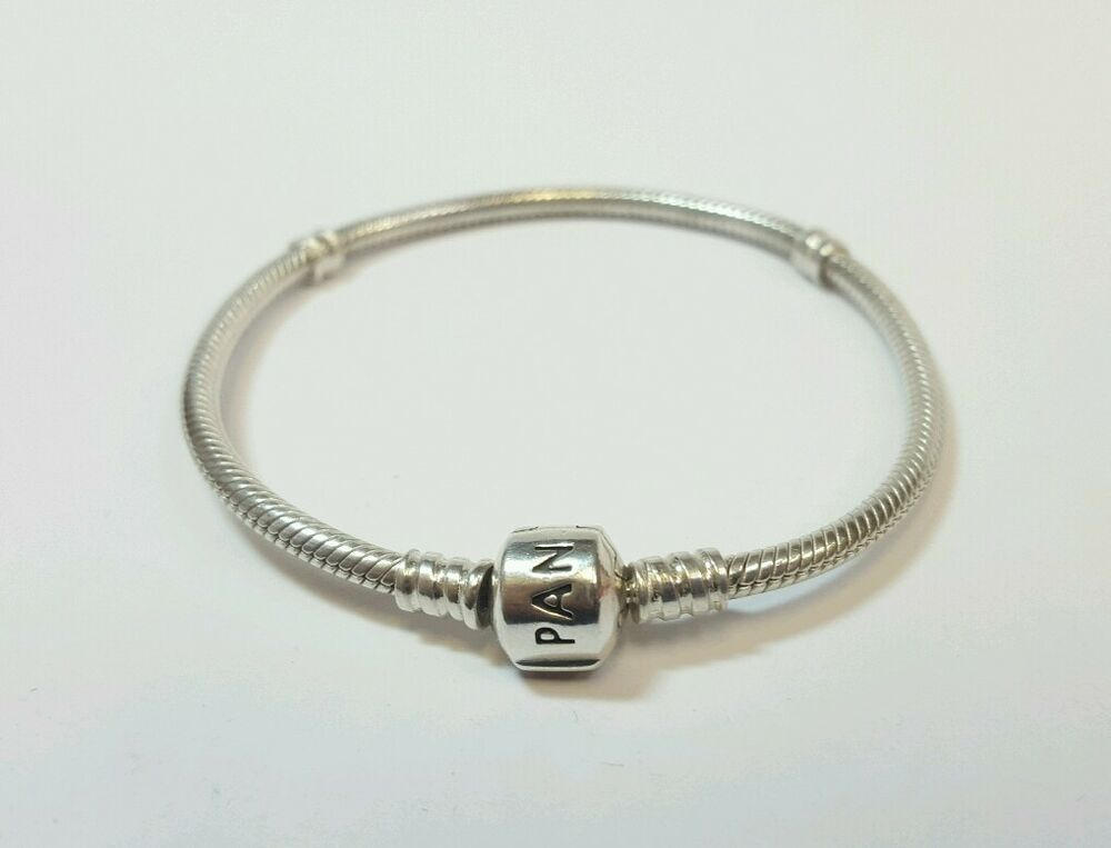 authentic sterling silver pandora 7 inch barrel clasp