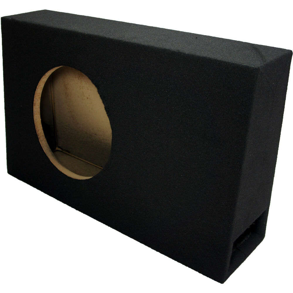 Car Audio Single 10 Slim Ported Vented Truck-Style