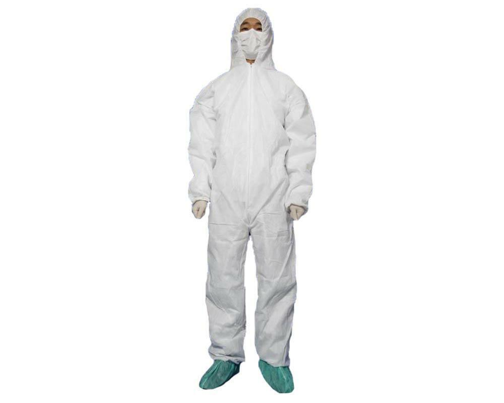 New White Protective Clothing Coverall Protective Apparel ...