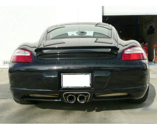new rear trunk spoiler wing for porsche 987 boxster. Black Bedroom Furniture Sets. Home Design Ideas