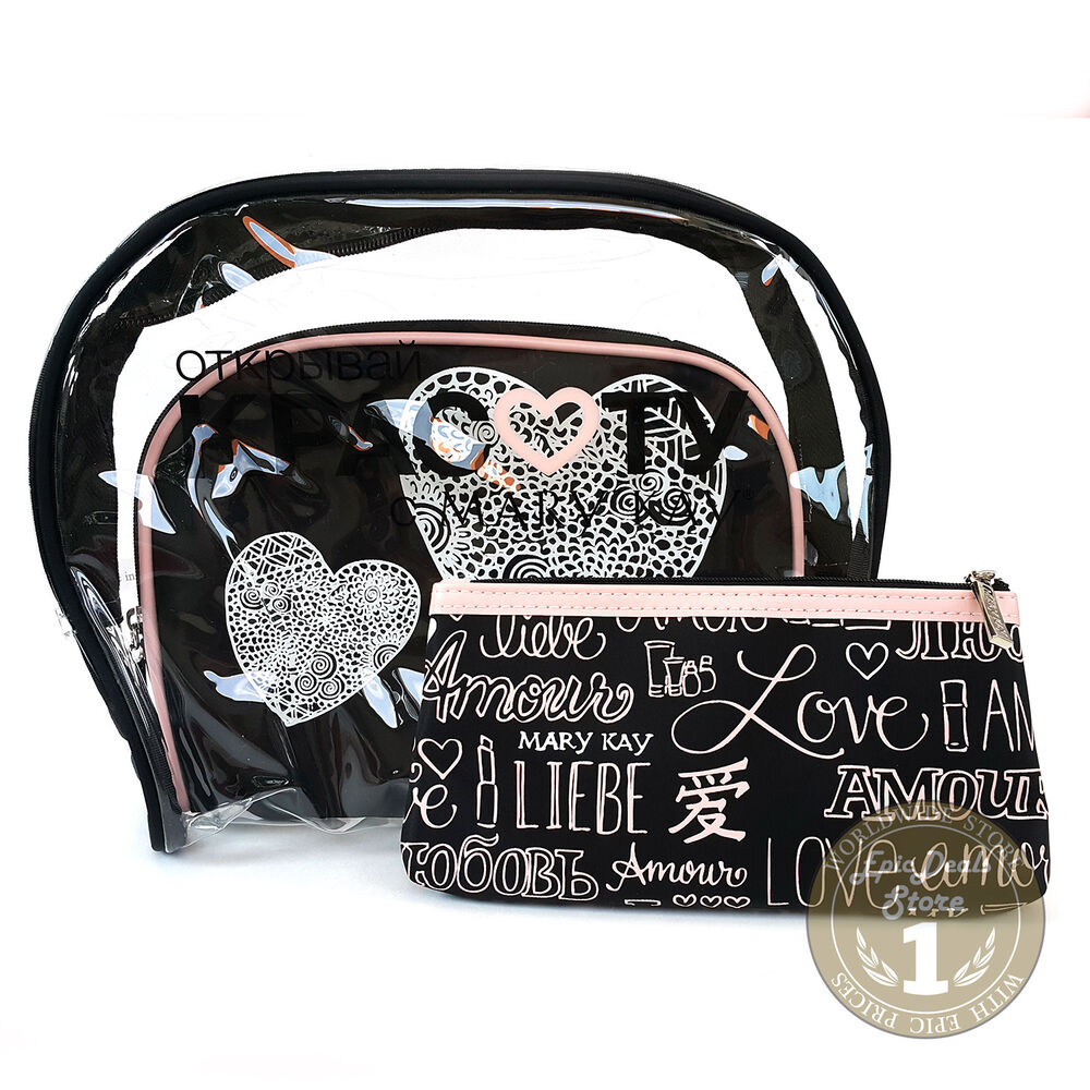 Mary Kay Cosmetic Organizer Bag 3 In 1 Set Love Series Limited Edition Ebay