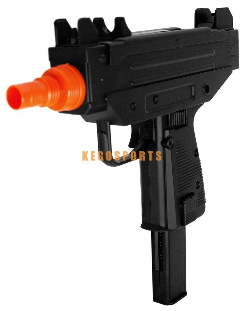 M33 Micro Uzi Spring Smg Airsoft Pistol Gun 230 Fps With 24 Round