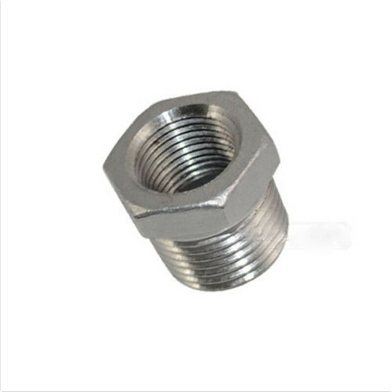Quot male female thread reducer bushing pipe