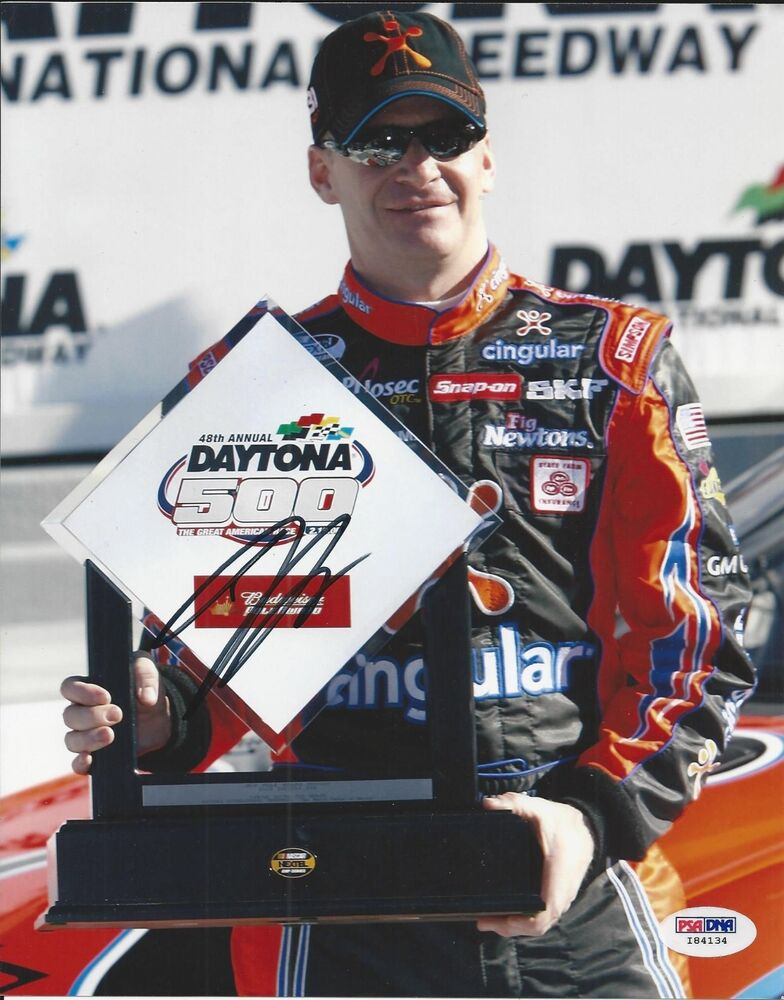 Details about   Jeff Burton Signed Nascar 8x10 Photo PSA/DNA # I84134