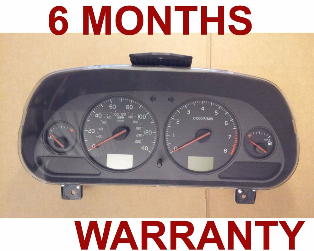 2004 volvo c40 s40 v40 speedometer instrument cluster ebay. Black Bedroom Furniture Sets. Home Design Ideas