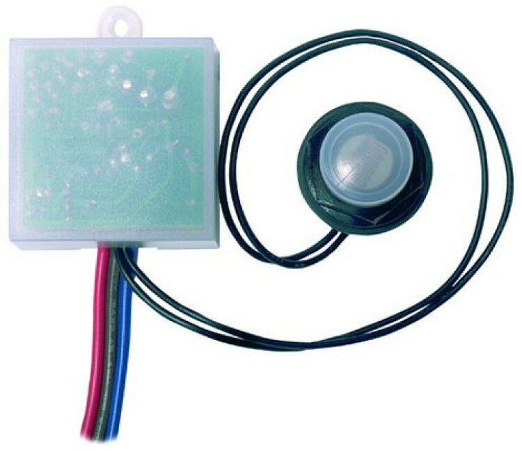 Patio Lights Screwfix: HiSPEC Remote Internal Photocell 20mm Thread Switch IP65