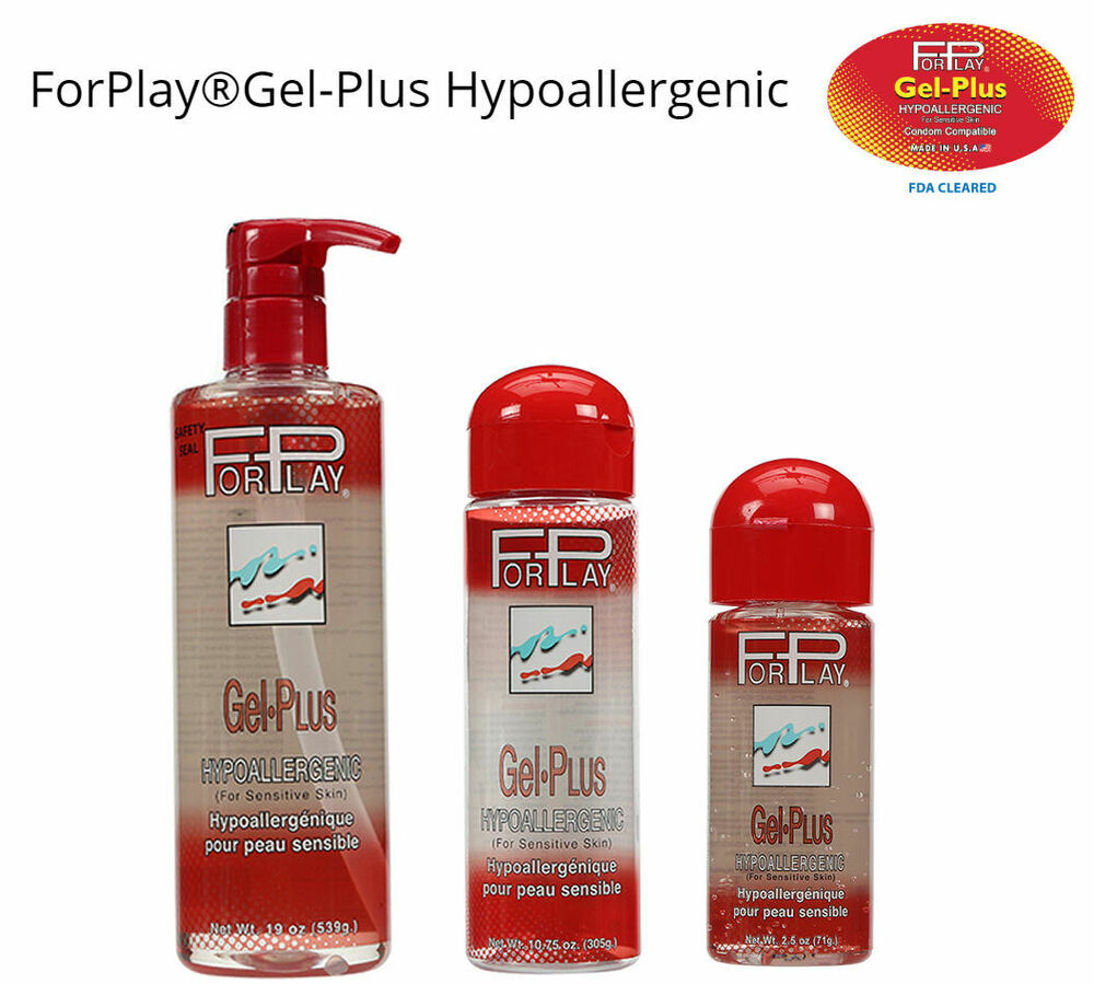 forplay gel plus water based h2o lubricant lube massage fda approv 2 5 19 ebay. Black Bedroom Furniture Sets. Home Design Ideas