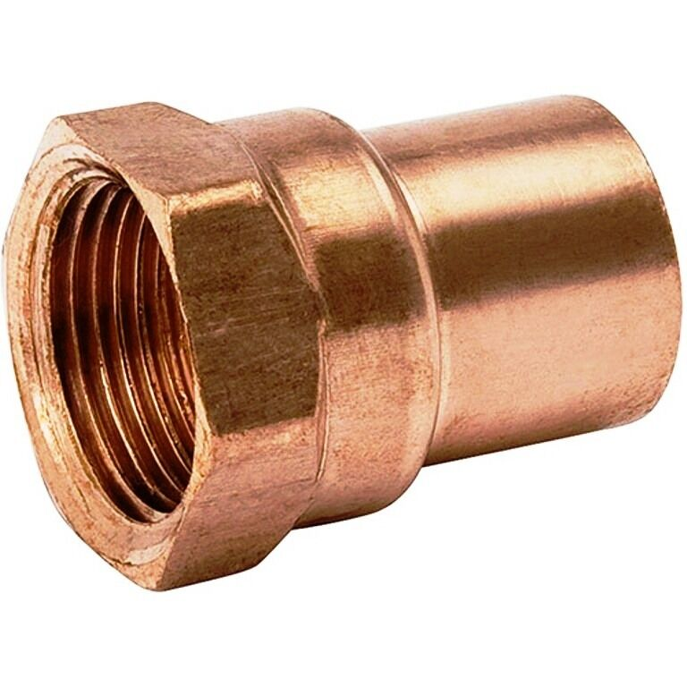 Bag Of 25 1 2 Quot Copper Female Adapter Sweat Solder Joint