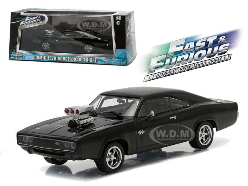 dom 39 s 1970 dodge charger r t fast and furious fast five 1 43 greenlight 86228 ebay. Black Bedroom Furniture Sets. Home Design Ideas
