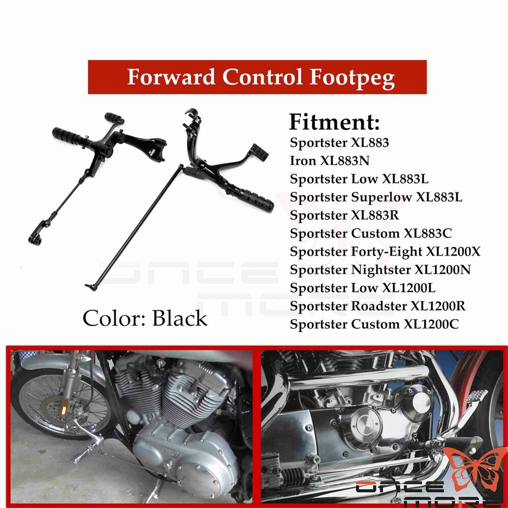1844 Chrome Flyer Wide 78 And 1 Motorcycle Custom Harley Davidson in addition Harley Ironhead Engine Diagram further Harley 883 Parts Diagram Html likewise Chrome Daniel Boone Forward Controls Control Kit Harley 142045572217 additionally 112600685516. on harley sportster 883 iron