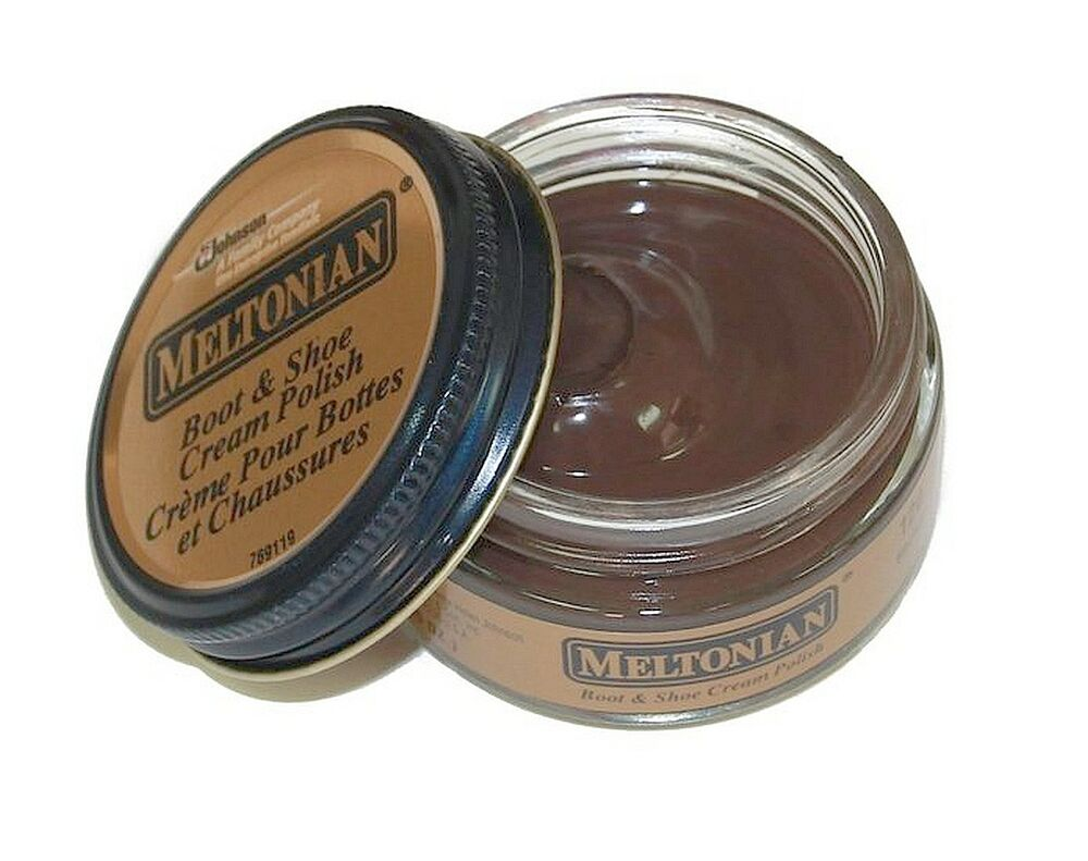 Meltonian Boot And Shoe Cream Polish Brown