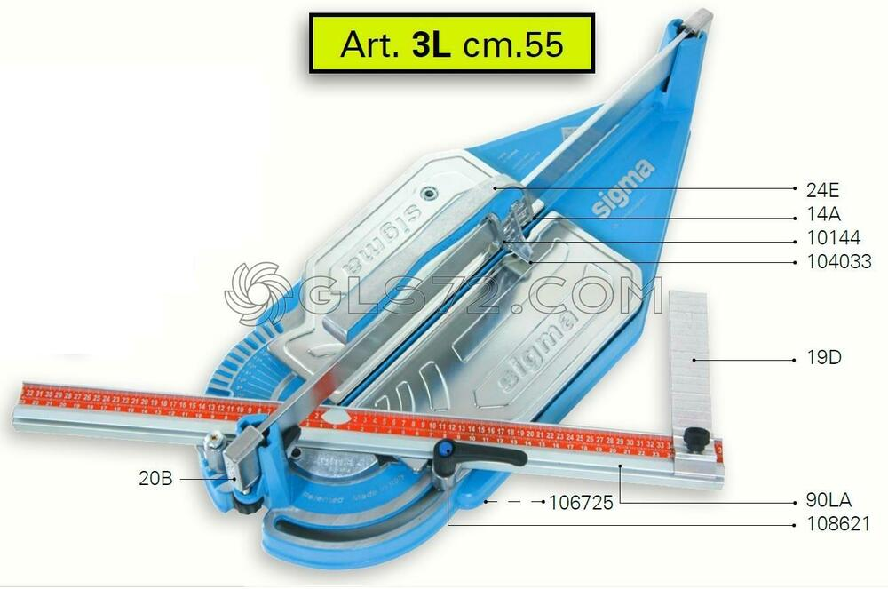 Spare Parts And Accessoires For Tile Cutter Sigma 3l Ebay