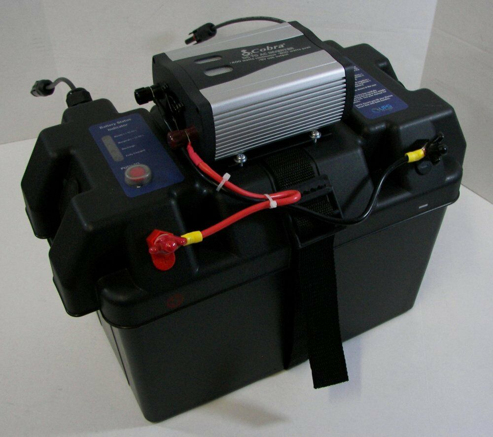 Solar Power Generator - Solar Inverter Battery Box & Charge Controller ...