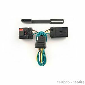 dodge ram 1500 trailer wiring harness trailer hitch t-connector wiring fits dodge ram 1500, 2500 ... #13