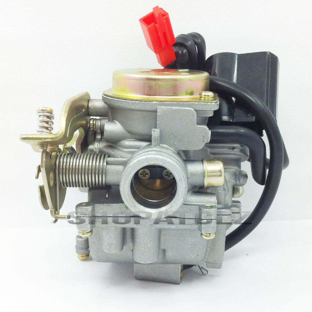 Moped Carburetor Parts : Mm high performance carburetor for chinese scooter with