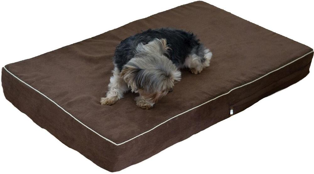 Petbed4less Waterproof One Piece 100 Orthopedic Memory Foam Cat Bed Dog Bed Ebay