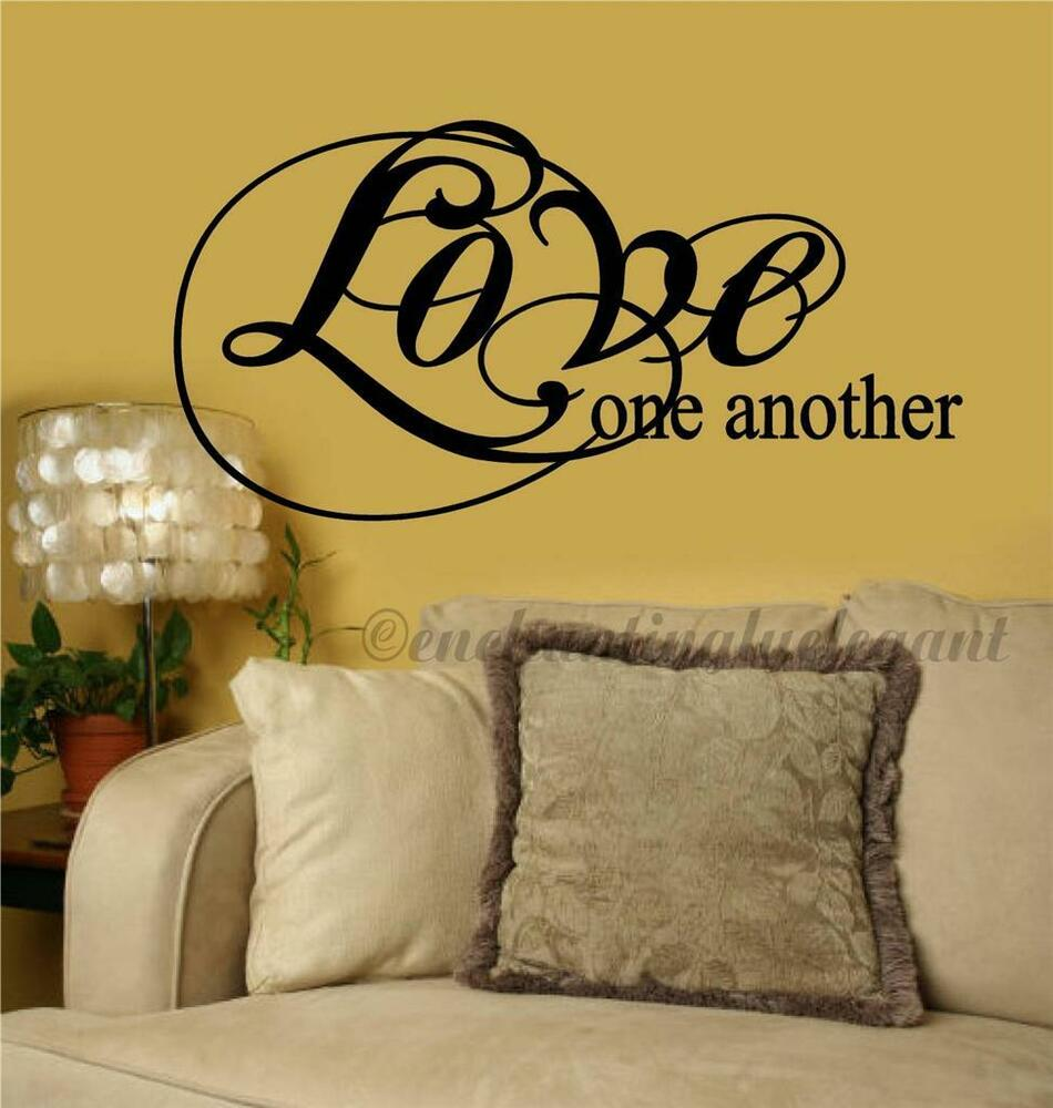 Single Word Wall Decals - Elitflat