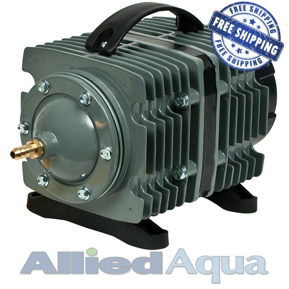 Elemental o2 commercial air pump 1744 gph aquarium for Hydroponic air pump