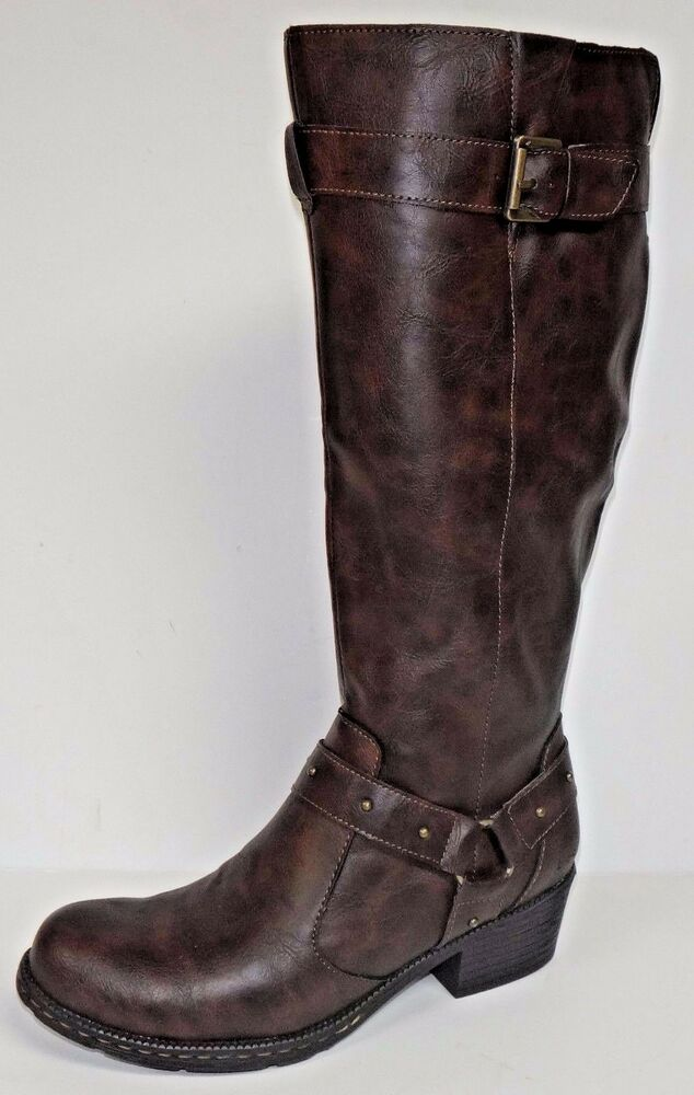 boc mahers s sytle knee boots brown born