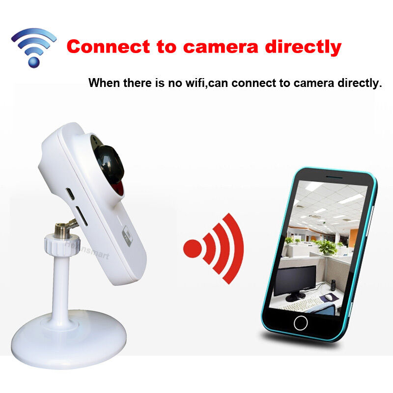 Wireless Ip Wifi Sd Cctv Security Camera Baby Monitor For