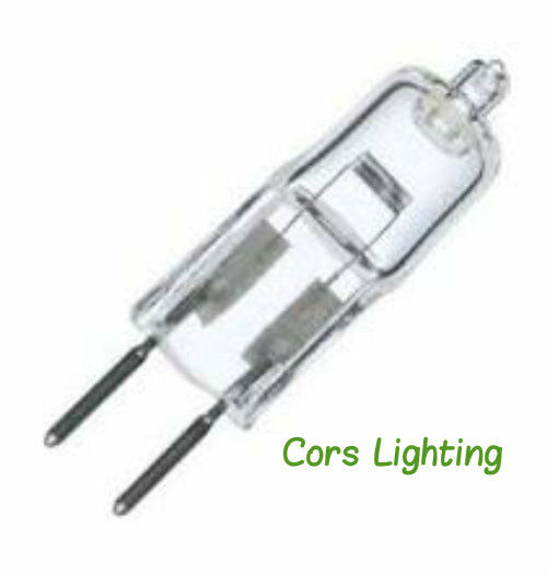 2 jc light bulb xenon 24v 35 watt 24 volt 35w clear plusrite 5122 ebay. Black Bedroom Furniture Sets. Home Design Ideas