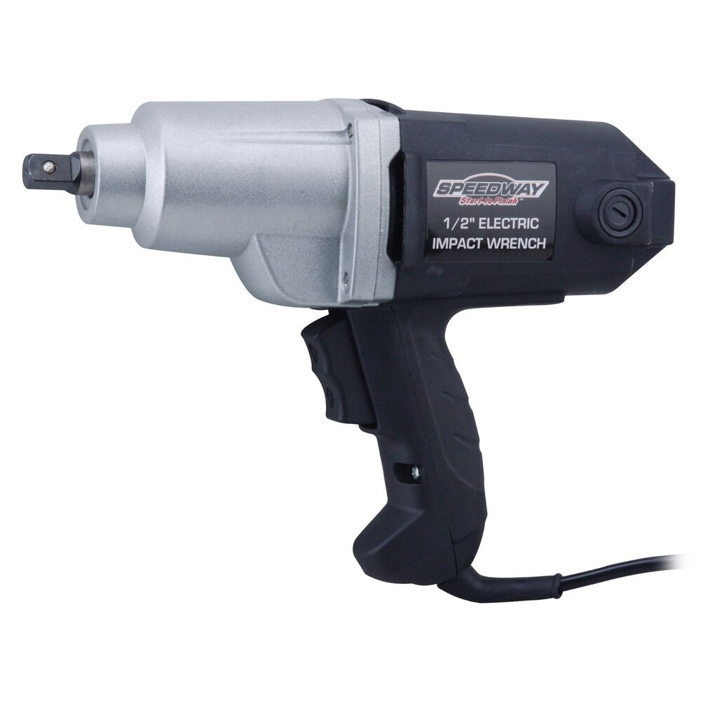 speedway 1 2 electric impact wrench mpn model 46692 ebay. Black Bedroom Furniture Sets. Home Design Ideas