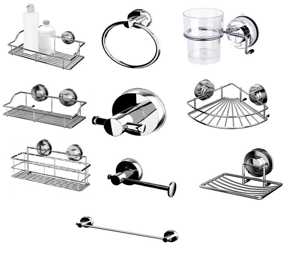 100 steel suction cup non rust bathroom accessories for L k bathroom fittings