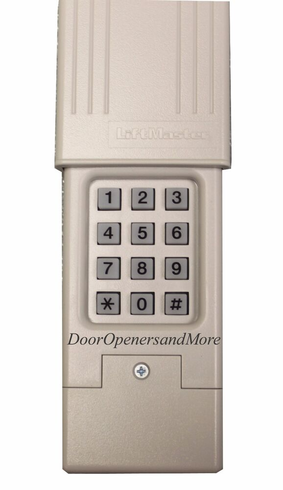 Liftmaster Chamberlain Sears Craftsman Wireless Keypad For