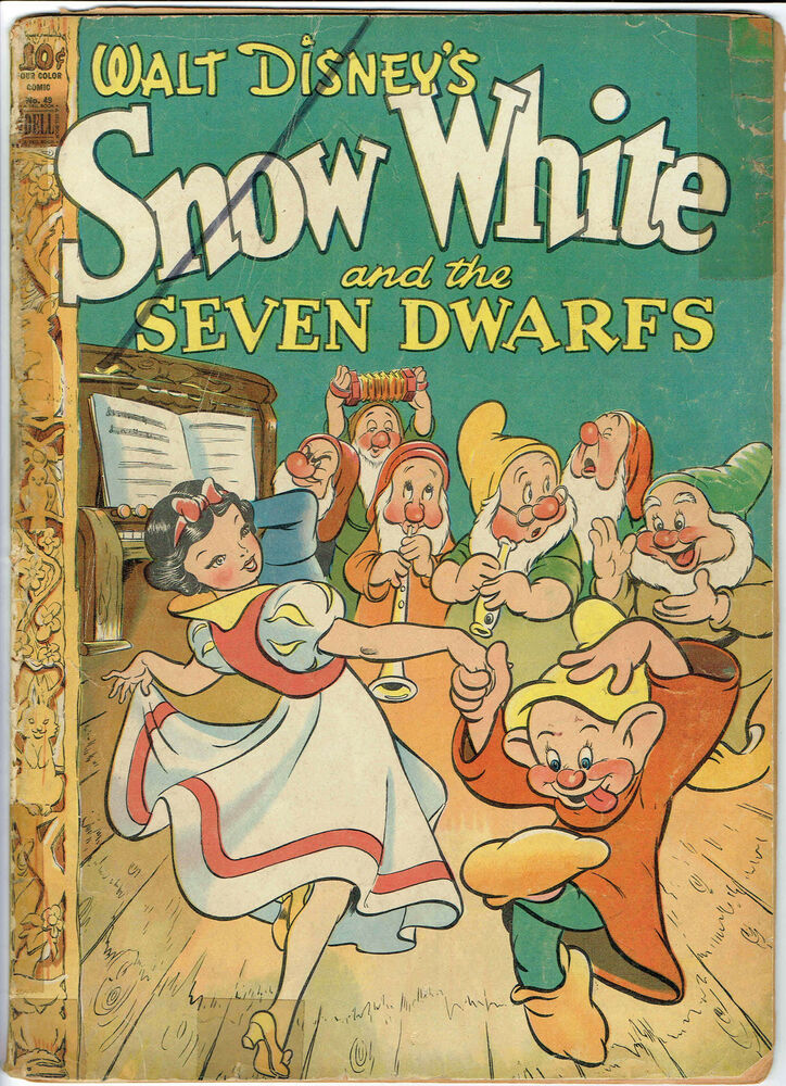 The Seven Most Popular Types Of Businesses: Snow White And The Seven Dwarfs 1944 Dell Comic From Our