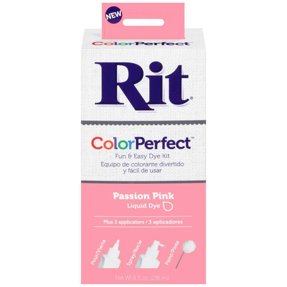 Rit Color Perfect Fabric Dye Liquid Dye Quot Passion Pink