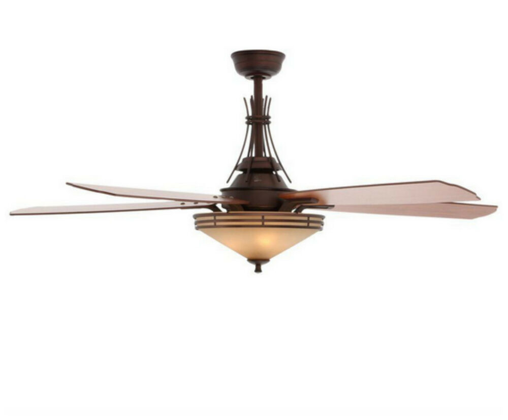 Indoor modern bronze ceiling fan with 3 light shades kit - Pictures of ceiling fans ...
