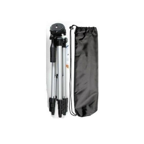 Compact 50 inch travel photo video tripod with case ebay for Miroir 50in projector review