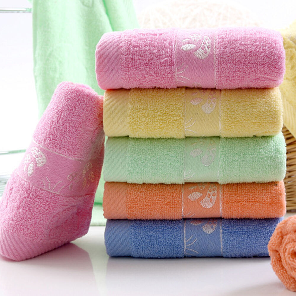 Hand Towels Bathroom: 100% Cotton Solid Color Towels Large Bath Sheet Bath Towel