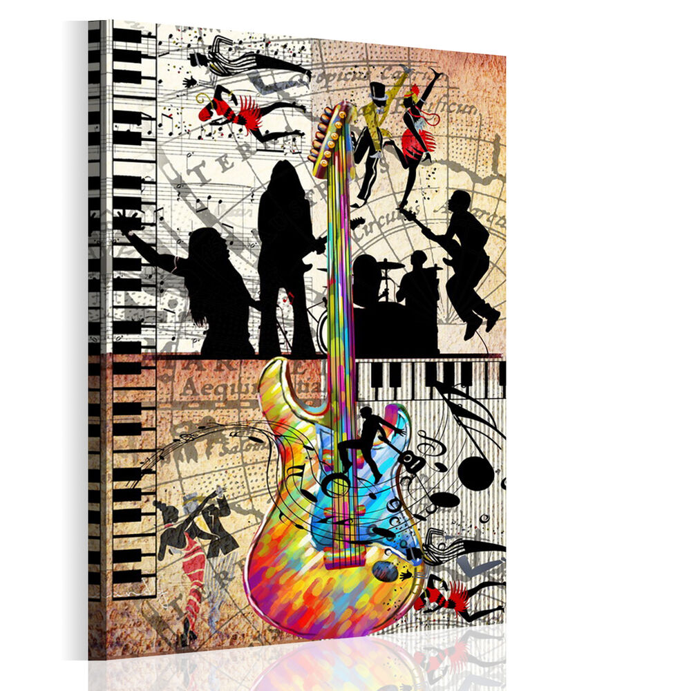 Hd wall art abstract music dance on canvas prints picture for Modern art prints posters