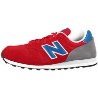 NEW BALANCE ML 373 RER SHOES RED BLUE GREY ML373RER SNEAKER TRAINERS M373