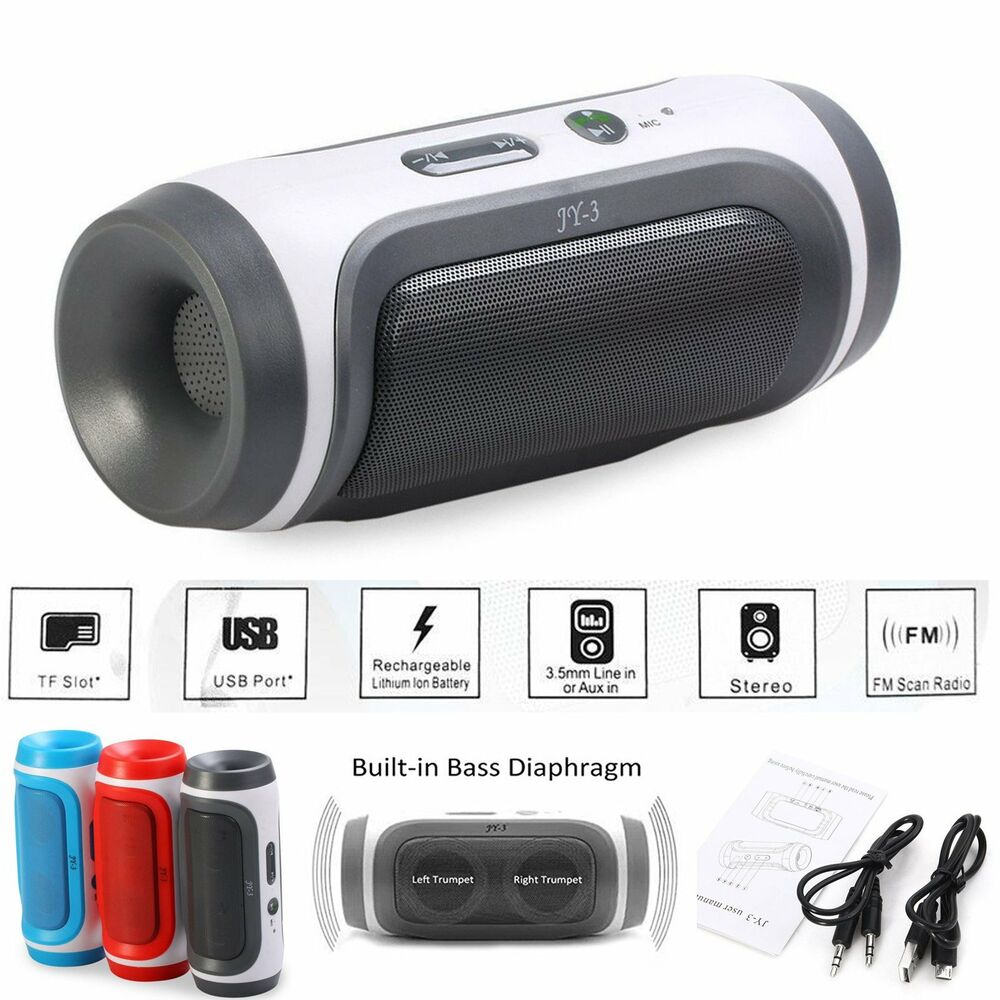 bluetooth portable mini wireless stereo bluetooth speaker for iphone tablet pc ebay. Black Bedroom Furniture Sets. Home Design Ideas