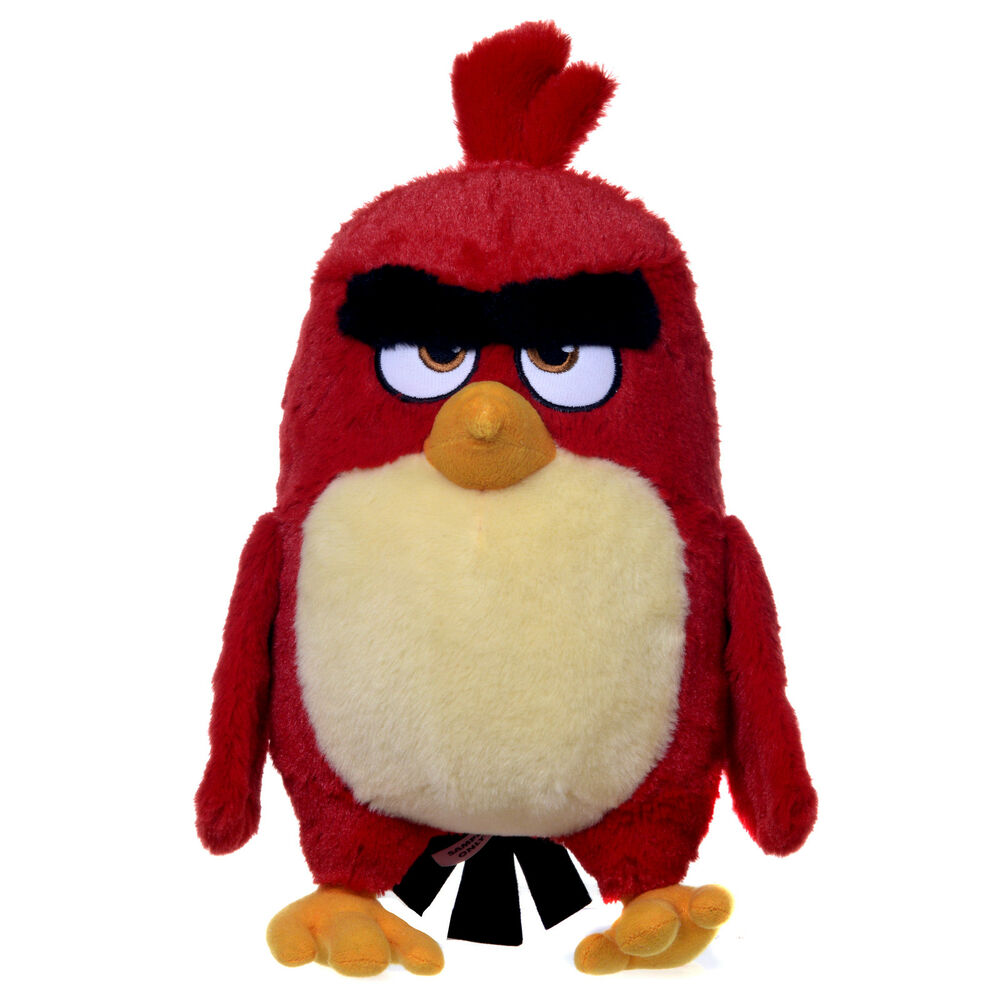 Angry Birds Toys : Official new quot red angry bird from birds the movie