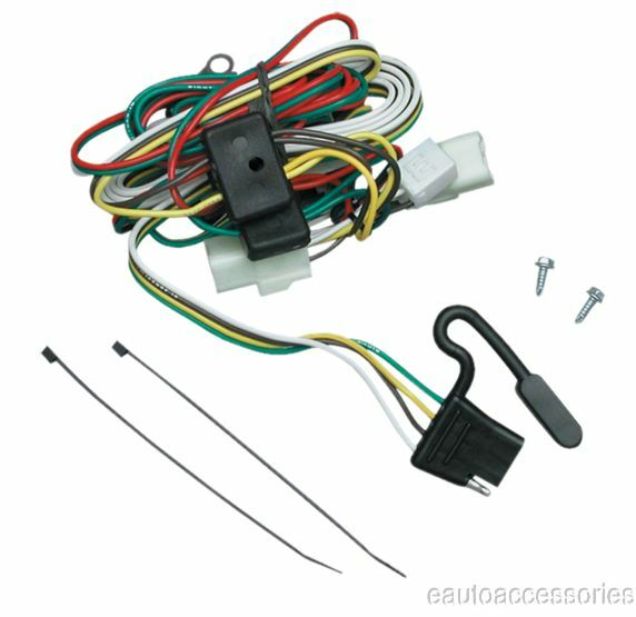 tow ready 118309 t one t connector hitch wiring fits kia. Black Bedroom Furniture Sets. Home Design Ideas