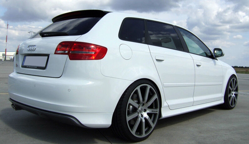 audi a3 8p 5 door sportback s line s3 look spoiler 2005 2013 ebay. Black Bedroom Furniture Sets. Home Design Ideas