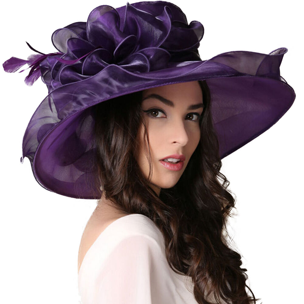 Derby Hats for women and ladies are for sale in the HAT-A-TUDE Online Catalog. I can custom trim a hat just for YOU and your outfit! I specialize in women's large and small head sizes and large and small hat .