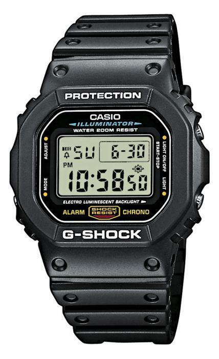 casio g shock uhr dw 5600e 1ver digital schwarz. Black Bedroom Furniture Sets. Home Design Ideas