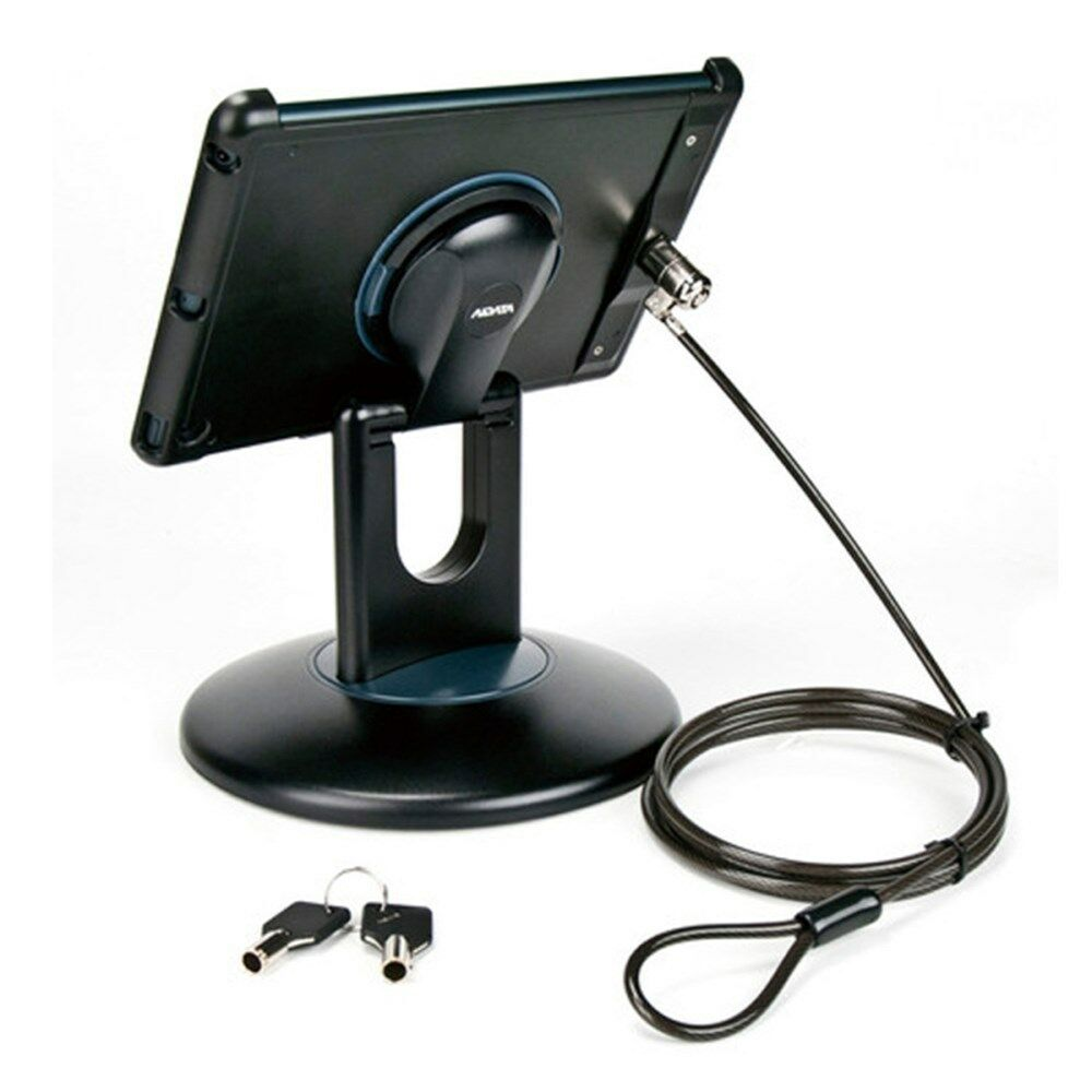 Ipad Air 1 2 Anti Theft Security Station Black Mount Desk