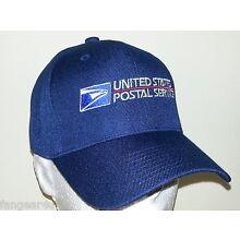 USPS EMBROIDERED BASEBALL CAP/ ADJUSTABLE/ AVAILBLE IN  7 COLORS /USPS LOGO2 HAT