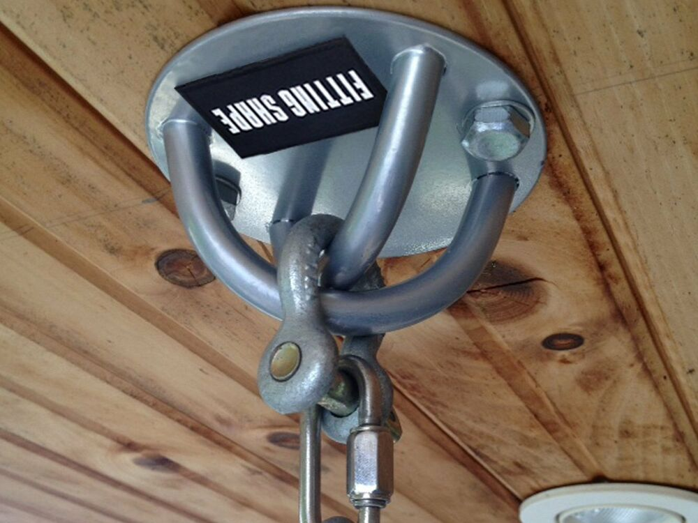 Ceiling Anchor Wall Mount Bracket Suspension Pull Trainer