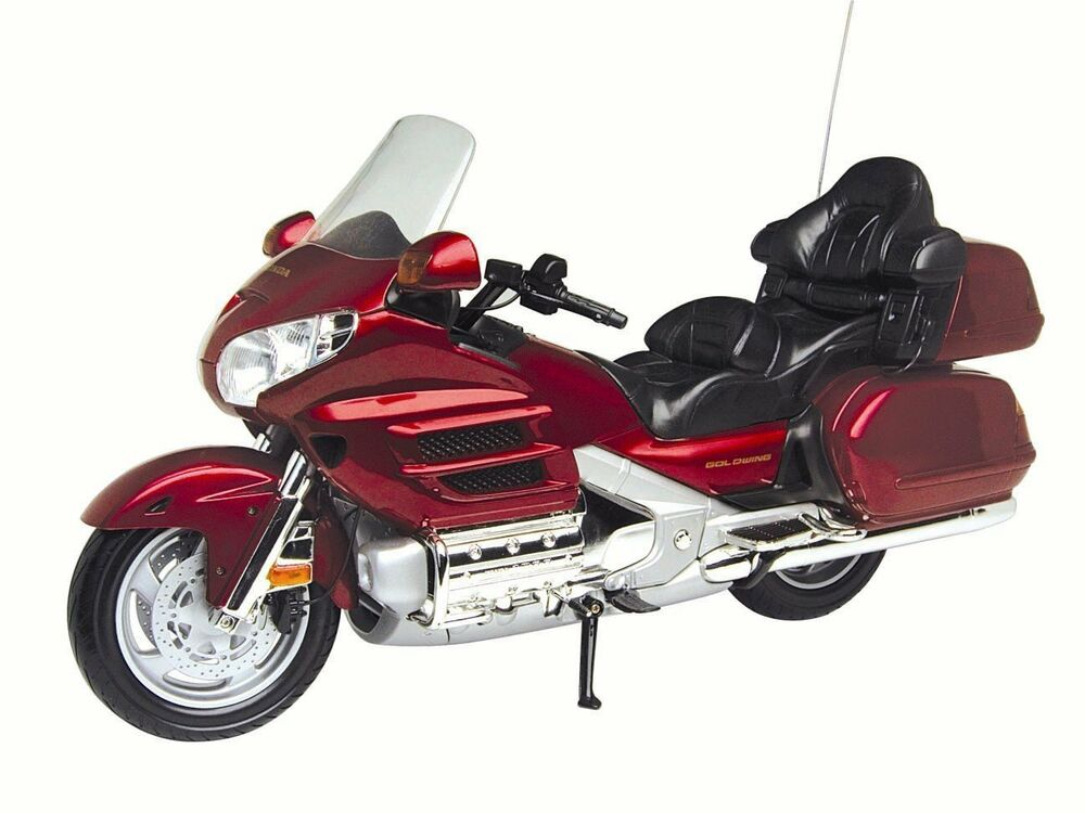 HONDA GOLDWING RED 1/6 MOTORCYCLE MODEL BY MOTORMAX 76264 ...