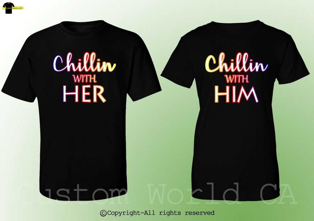 relationship shirts for him and her