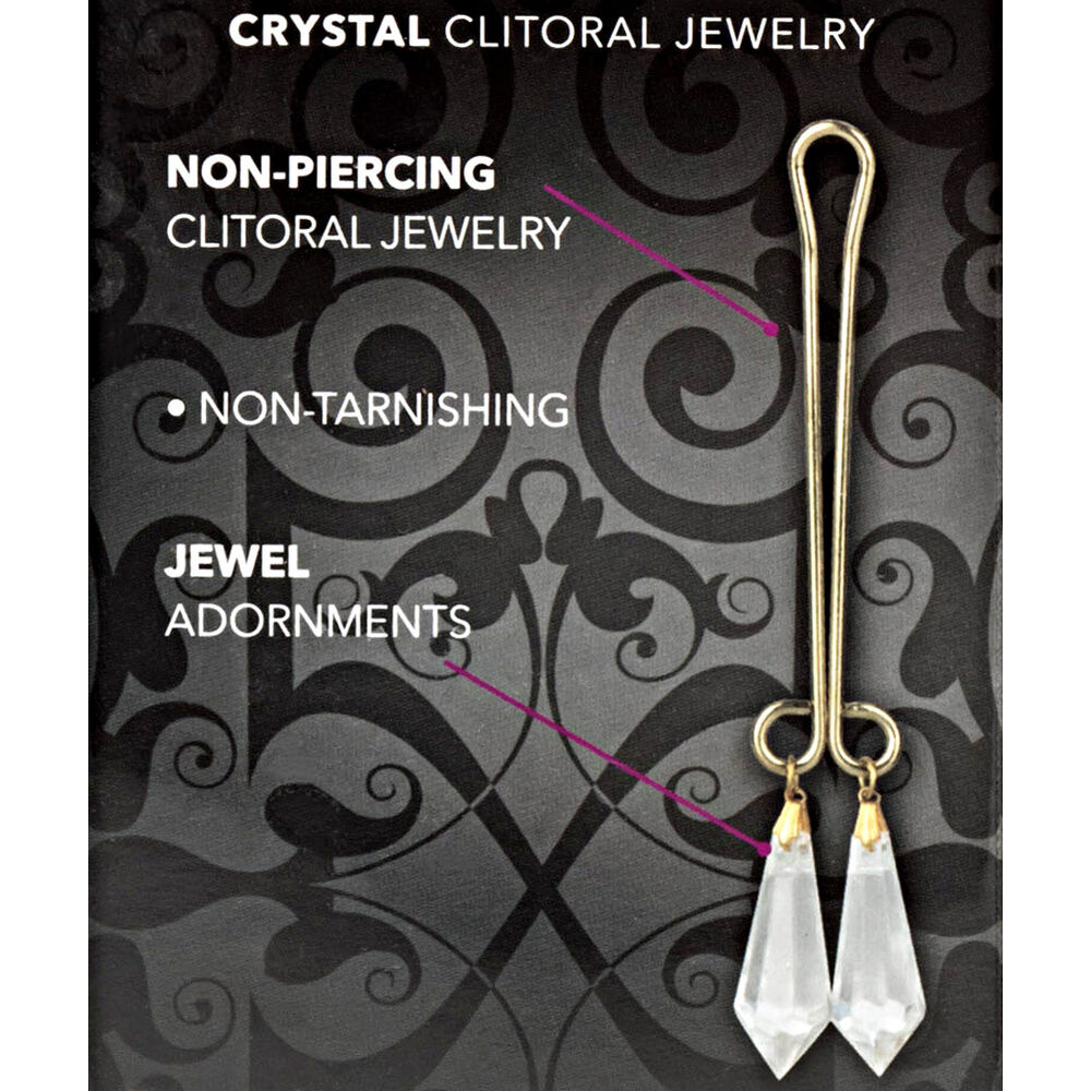 Calexotics cleopatra collection clit clip clitoral jewelry for Non piercing clitoral jewelry